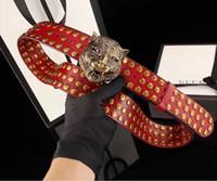 Wholesale Belt Buttons - new men G button belts High quality leather size:105-125cm designer ceintuur genuine MGL belt for men women LF belts..