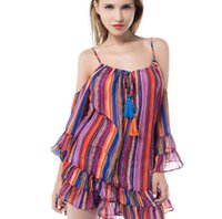 631e5831cf0f Venta al por mayor-más nueva moda vestido ocasional de las mujeres más el  tamaño barato vestido de China Ropa de la mujer arnés vestido de verano  Envío ...