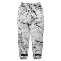 Wholesale Boys White Sweatpants - Hot Hip Hop OFFWHITE Joggers High quality For Men Boy Long Pants casual Drawstring Trousers Off White harajuku Sweatpants
