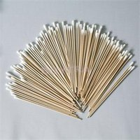 Wholesale Wood Cotton Swabs - Wholesale- 100pcs Women Beauty Makeup Cotton Swab Cotton Buds Make Up Wood Sticks Nose Ears Cleaning Cosmetics Health Care