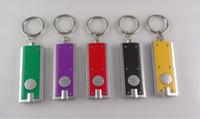 Wholesale Tetris Lamp Wholesale - For car key Tetris LED Torch Keychain light LED Flashlight Key chain lights Bright Hot Sale New Fashion gift lamp