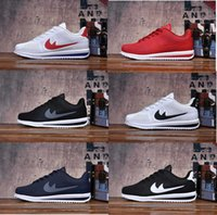 Wholesale Womens Athletic Shoes Cheap - 2017 best new cortez shoes mens womens running shoes sneakers, cheap athletic original cortez ultra moire walking shoes sale