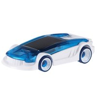 Wholesale Solar Water Toy - Wholesale-Novelty Solar Salt Water Hybrid Car Children Educational Technology Toy Kids Creative Solar Powered Car Gift