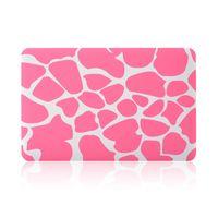 rosa macbook pro venda por atacado-Caso de plástico duro shell capa rosa para apple macbook ar pro retina 11.6