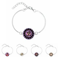 Wholesale Wholesale Zen Bracelets - Glass dome Om Yoga Bracelet Jewelry,Om Symbol,Buddhism,Zen,Meditation, Mandala Art Picture Bangle From Indian gg10