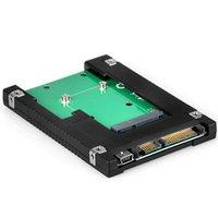 Wholesale 22 Pin Usb - Wholesale- ELUTENG mSATA to SATA SSD Adapter 2.5 Inch Internal SATA 3.0 Converter 22 Pin Standard m-SATA SSD Hard Disk Drive with Mini USB
