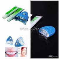 Wholesale Bright White Teeth - Wholesale-Original white light tooth whitening tooth whitening gel bleaching Dental bleaching lamp bright white teeth whitening