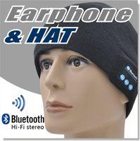 Wholesale Blackberry Hat - Bluetooth Hat Winter Cap Wireless Bluetooth Headphone Headset Earphone soft warm with stereo speaker hands-free