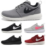 2017 Hot Sale Original London Olympic Designated Running Shoes Mulheres e Homens preto branco Respirável Casual Shoes Cheap Online Sales