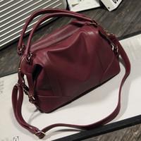 Wholesale New Style Fashion Ladies Handbags - New 2016 women bag euramerican fashion lady handbags Boston bag High Quality Ladies Handbags Free Shipping
