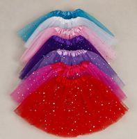 Wholesale Wholesale Childrens Fancy Dress Costumes - 2017 Best Match Baby Girls Childrens Kids Dancing Tulle Tutu Skirts Pettiskirt Dancewear Ballet Dress Fancy Skirts Costume