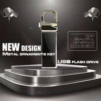 Wholesale 128gb Usb Stick China - 2016 wholesale USB Flash Drive Metal Pendrive High Speed USB Stick 128GB Pen Drive Real Capacity USB Flash Free Shipping