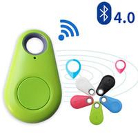 Wholesale Auto Alarm Gps - Smart Wireless Bluetooth 4.0 Anti-lost Anti-Theft Alarm Device Tracker GPS Locator Key Dog Cat Kids Wallets Finder Tracer