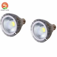 2016 DHL Dimmable Led bulbo par38 par30 par20 85-265V 10W 20W 25W E27 par 20 30 38 Iluminación LED Spot lámpara de luz downlight