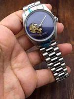 часы брендинг оптовых-Горячие Мужские Часы Люксовые Часы Марка Из Нержавеющей Стали группа Скелет Циферблат Механические Автоматические Наручные Часы Бизнес-Подарок Для Мужских relojes часы