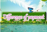 Wholesale Print Items - Difference of payment Free Shipping or other items not enough payment