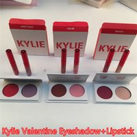 Wholesale Valentines Love Letters - Newest Kylie 2 Colors Eyeshadow main squeeze and sweet thing,poison and in love,love letter and baby For valentine Gift