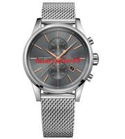 Wholesale Herren Uhr - New 1513440 Herren Chronograph Chrono Uhr Analog Mens Watch 41mm