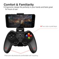 Wholesale Cheapest Best Bluetooth - 2017 Best Bluetooth Gaming Controller PG-9078 Cheapest Wireless Gamepad Joystick for Android iOS Device PC Tablet TV Box Free DHL