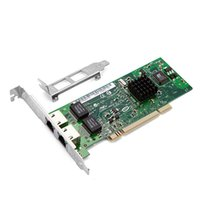 Wholesale Dual Port Network Card - Wholesale- 82546 PCI Network Card Dual 8492MT Ports and Gigabit Server RJ45 Lan Card