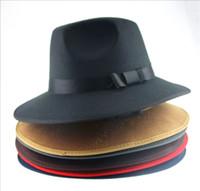 Wholesale Mj Hats - MJ hip-hop moonwalk dance performance hat Large along Jazz dance cap A multi colored unisex hat Hot sale