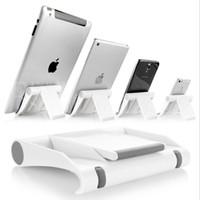 masa üstü telefon toptan satış-Renkli Taşınabilir Ayarlamak Açı Standı Tutucu Tablet Için Esnek Danışma Telefon tutucu Desteği Braketi Dağı ipad