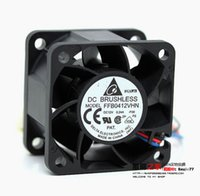 Wholesale 28mm Ships - Wholesale- Free shipping Delta FFB0412VHN 4E73R 4028 40*40*28MM 4CM 12V 0.24A DC Cooling Fan