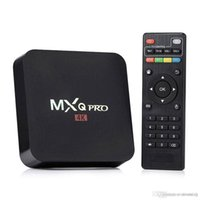 Wholesale 3gp Tv - Best Price MXQ Pro 4K Smart Android 6.0 TV Box RK3229 Quad Core 1GB 8GB Media Player Fully Loaded KD16.1 Jarvis