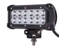 """Wholesale Boat Mounting Brackets - led car lamp 7"""" 36W Spot Flood Combo Led Light Bar Offroad Driving Light with Mounting Bracket Waterproof for SUV Motorcycle Tractor Boat"""
