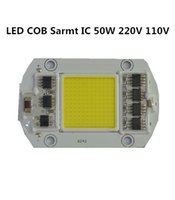 Wholesale Power Led Driver Ic - 20PCS  lot LED driver COB 50W Lamp AC 220V 110V white warm Smart IC Fit For DIY High power driver IC for 50W for flood light