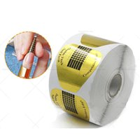 Wholesale Special Therapy - Wholesale- Nail Crystal Nail Light therapy Nail special Paper tray Horseshoe paper care Light therapy crystal production necessary