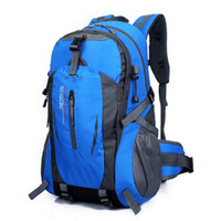 Wholesale Bagpack Camping - Wholesale- VOJUAN Fashion Male Backpack 2017 Casual Men Women Waterproof Backpack Nylon Travel Hike Camp Climb School Rucksack Bagpack