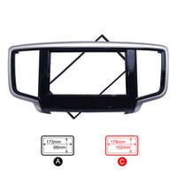 Wholesale Honda Dash Kit - FEELDO Car 2DIN Refitting DVD Frame Panel Dash Kit Fascia Radio Audio Frame for 2014 Honda Odyssey #4065