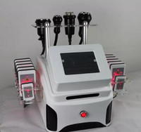 Wholesale Laser Slimming System - Portable 5 in 1 new arrival laser lipo double vacuum RF cavitation body slimming system