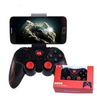 C8 Smartphone Game Controller Wireless Bluetooth Phone Gamepad Joystick für Telefon / Pad / Android Tablet PC TV BOX + Telefonhalter