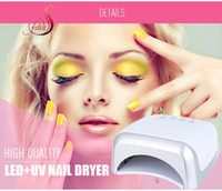 Wholesale High Power Uv Nail Lamp - lamp chain FELIZ Professional Gel Lamp 60W UV LED Nail Dryers Double High Power Manicure Tool Salon Nail Led UV Polish Dryer Brand