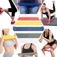 Wholesale Wholesale Bands For Exercise - hot 100% natural 600*50*0.7mm latex body building fitness exercise high tension muscle home gym for leg ankle weight training