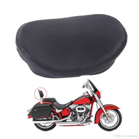 sportster black sissy bar - Universal Black Backrest Sissy Bar Semicircle Pad Back Rest Motorbike Seat Cushion For Harley Honda Yamaha Suzuki MB147