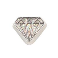tipos de vidrio de piedra al por mayor-20 unids / lote envío gratis buena calidad nuevo tipo de aleación de diamantes de imitación de piedra encantos flotantes para la vida de vidrio medallones de memoria