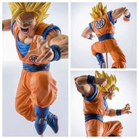 Wholesale Dragons Figurines - 19cm PVC Figurines Dragon Ball Z Action Figures Dragonball Figure Son Goku Super Saiyan Dbz Toys Budokai Tenkaichi 3