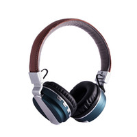Wholesale Tf Playback - Caldecott Bluetooth 4.0 Headset Gaming 2017 Stereo Sound Super Bass Foldable headphone with Microphone DSP TF card 3.5mm aux playback