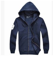 Wholesale Mens Casual Jackets Sale - Free shipping 2017 new Hot sale Mens polo Hoodies and Sweatshirts autumn winter casual with a hood sport jacket men's hoodies