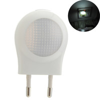 Wholesale Sensitive Switch - 2016 Hot Round White LED Toilet Nightlight Light sensor Sensitive Dusk to Dawn decorative lights, night light, bedside lamp