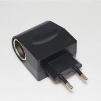 Wholesale car converter eu for sale – best AC TO DC Adapter EU Plug Car Charger Socket for MP3 MP4 GPS Car Converter up