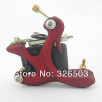 Wholesale Tattoo Supply Machine Frame - Wholesale- One 10 Wrap Coils Aluminum Alloy Frame Tattoo Machine Gun For Kit Set Supply DTM02-B