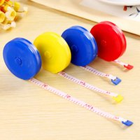 Wholesale Diet Cloth - 1pcs Hot Selling Random Color Retractable Ruler Tape Measure 60 inch 1.5M for Measures Sewing Cloth Dieting Tailor Dropshipping