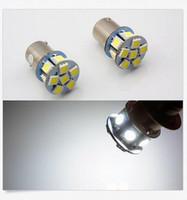 online shopping Red Led Brake Turn 1157 - 100X 1156 1157 P21W Ba15s 9 LED Car Tail Brake Turn Signal Lamp Bulb 24V White Light