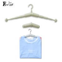 clothing plastic stocked plastic clothes hanger for travel bathroom drying clothes holder creative telescopic home storage