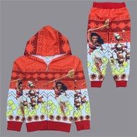 Wholesale Wholesale Childrens Sweatshirts - 2017 Moana Boys Childrens Clothing Sets Cartoon Hoodies Tops Pants 2Pcs Set Fashion Autumn Kids Sweatshirts Boutique Enfant Clothes Outfits