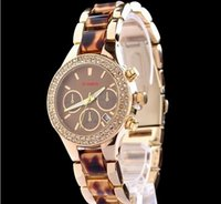 Wholesale Gold Plated Ladies Watches - High Quality Brand Stainless Steel Women Watches Quality Gold Plated Women Diamond Watches relojes Luxury Lady Watch